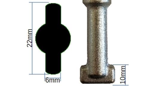 22mm Flat Tip - 003F22
