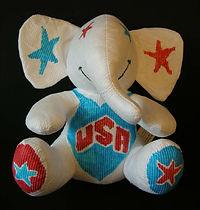 U.S.A. elephant