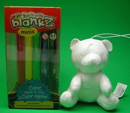 Mini blankZ® Bear