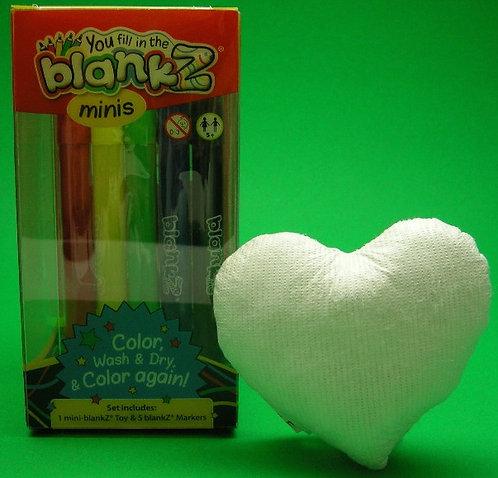 Mini blankZ® Heart
