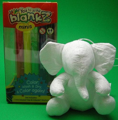 Mini blankZ® Elephant