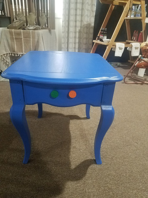 Lego Inspired Side Table