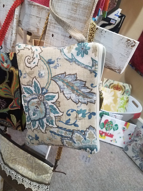 Handmade Wristlet Handbag