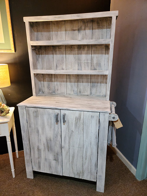 Handcrafted Wood Farm Style Buffet