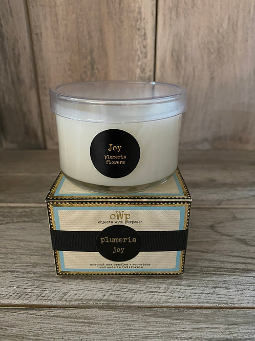 Objects With Purpose Coconut Wax Candles - 6 oz Glass