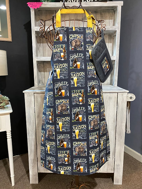 Handcrafted Beer Apron