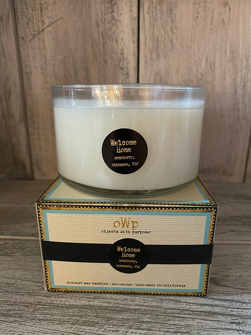 Objects With Purpose Coconut Wax Candles - 3 wick 14oz