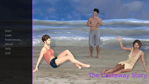 The Castaway Story Main - Haru's Harem.p