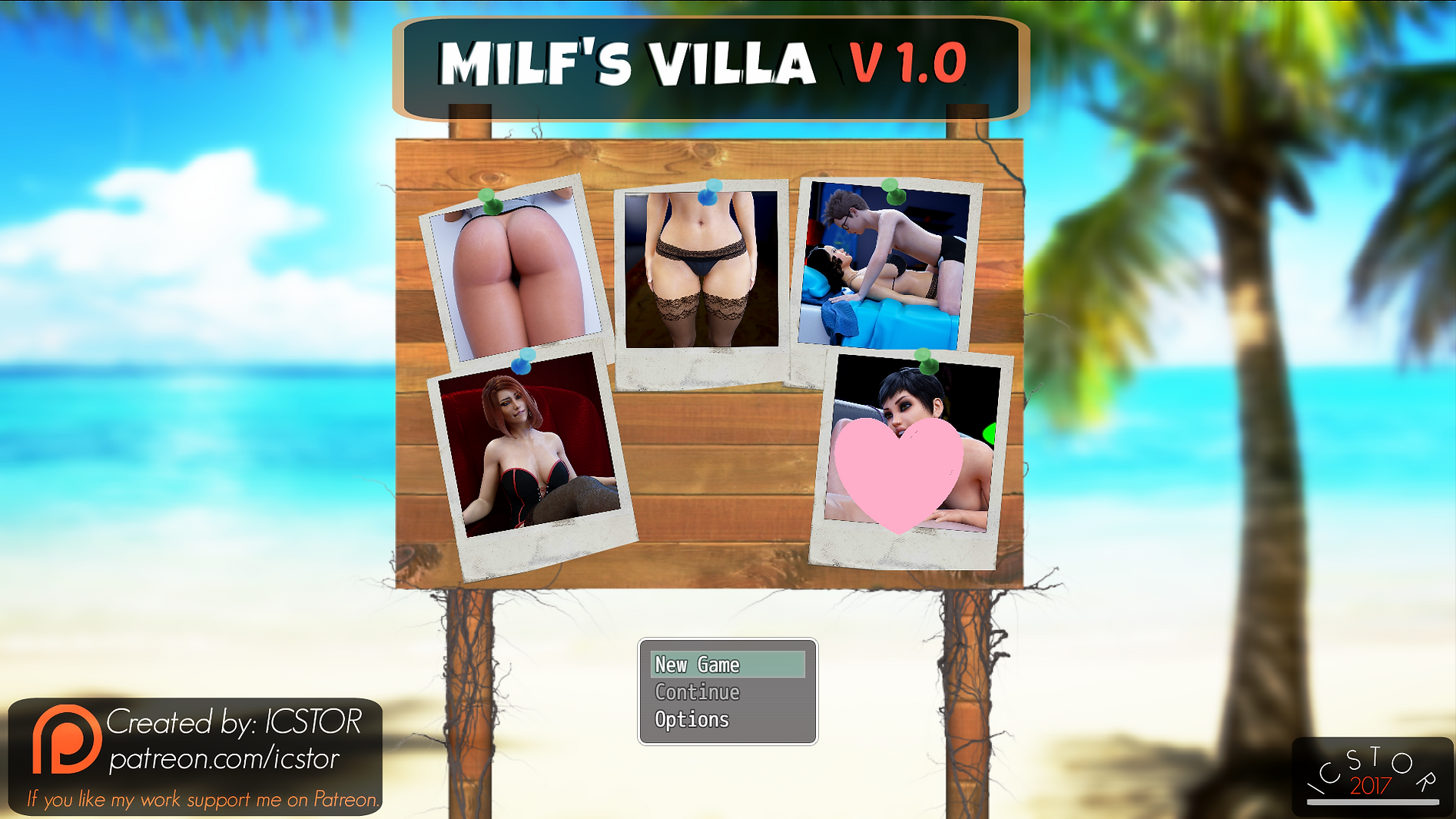 Milf's Villa Main - Haru's Harem.png