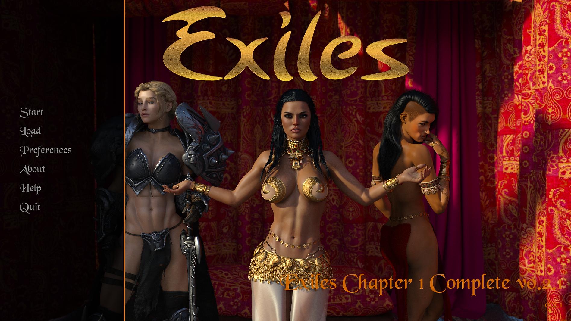 Exiles Main - Haru's Harem.png