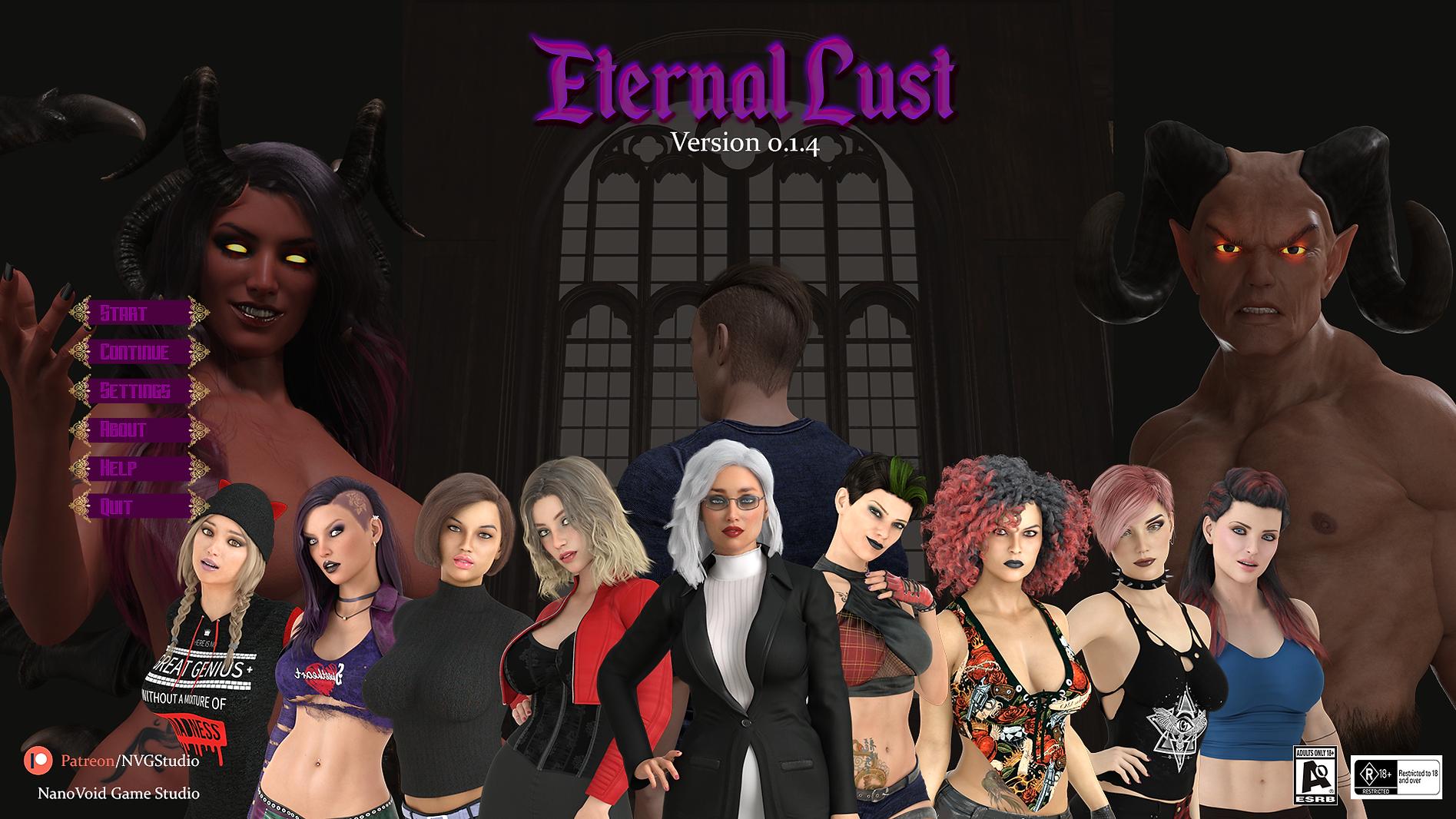 Eternal Lust Main - Haru's Harem.png