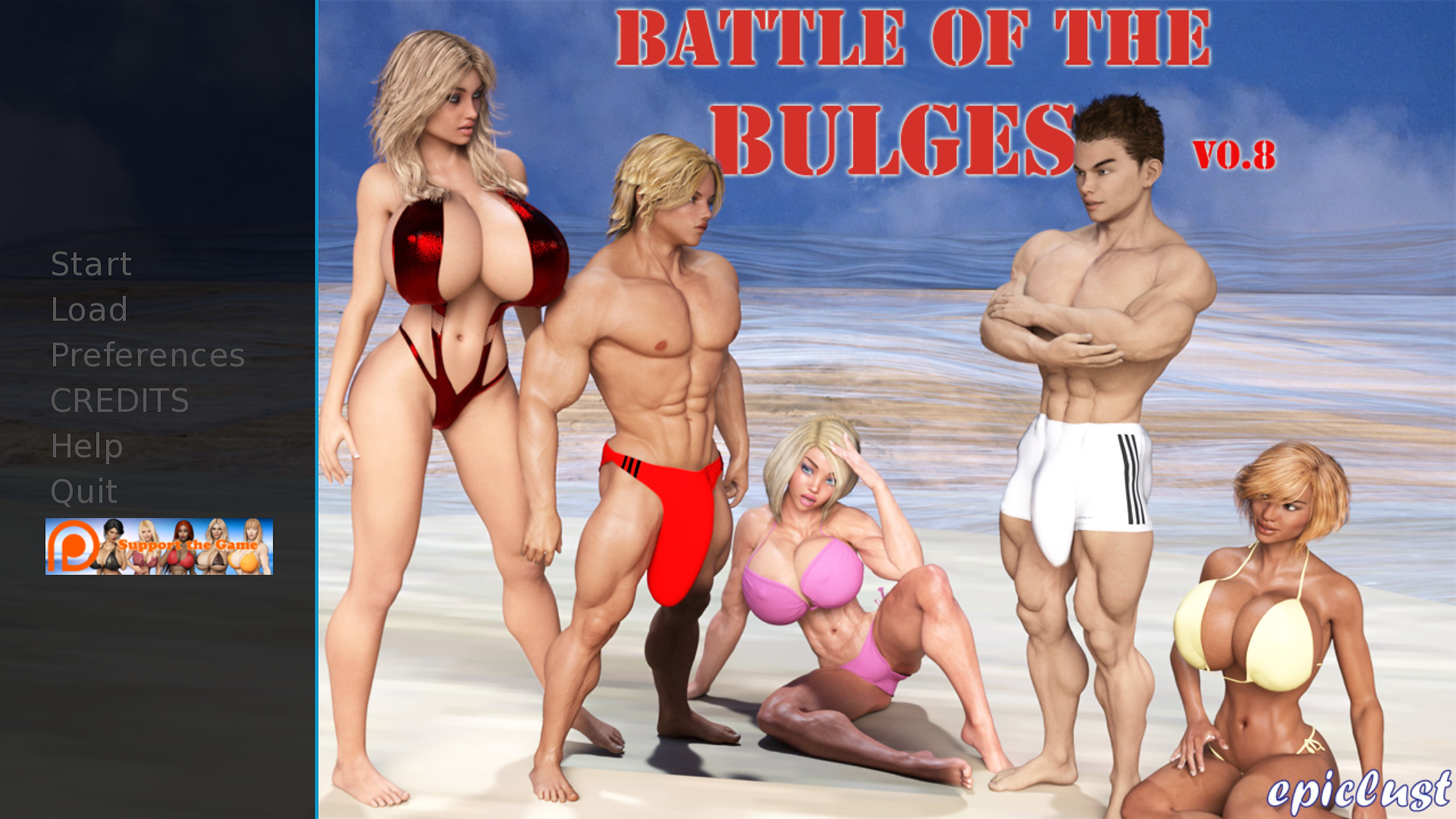 Battle of the Bulges Main - Haru's Harem