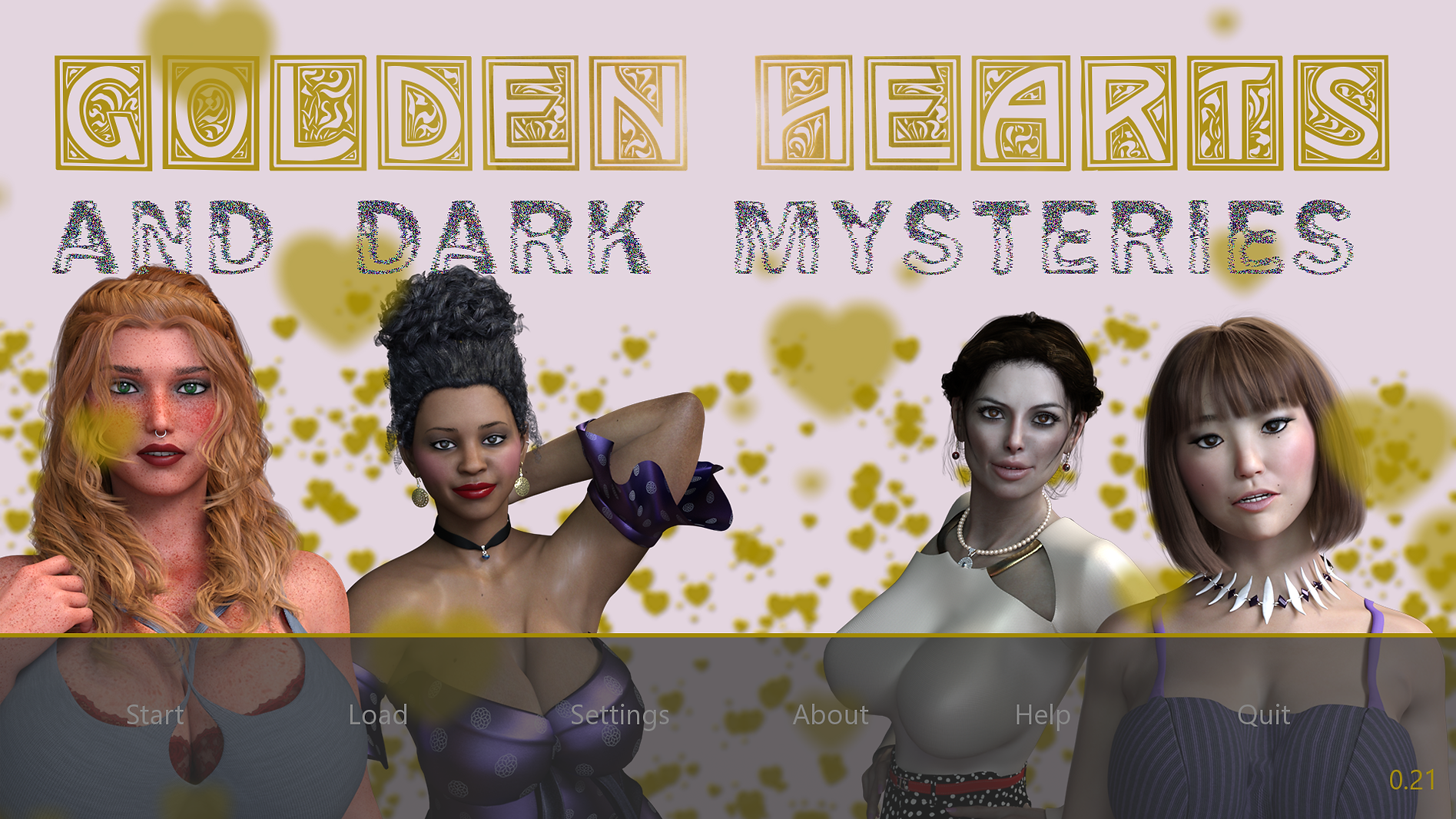 Golden Hearts and Dark Mysteries Main -