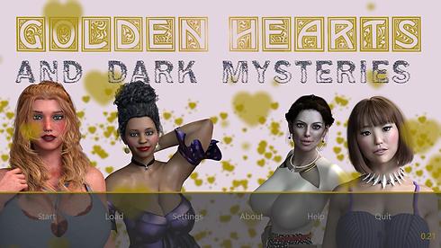 Golden Hearts and Dark Mysteries Main -