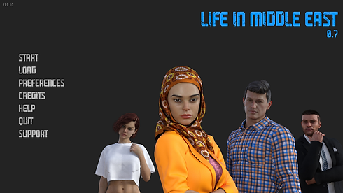 Life in Middle East Main - Haru's Harem.