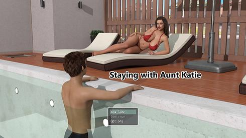 Staying With Aunt Katie Main - Haru's Ha