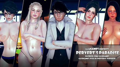 Pervert's Paradise Main - Haru's Harem.p