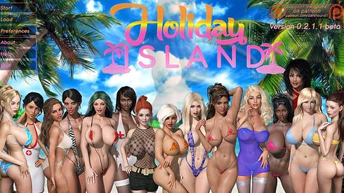Holiday Island Main - Haru's Harem.png