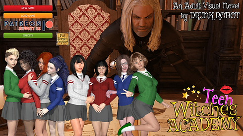 Teen Witches Academy Main - Haru's Harem