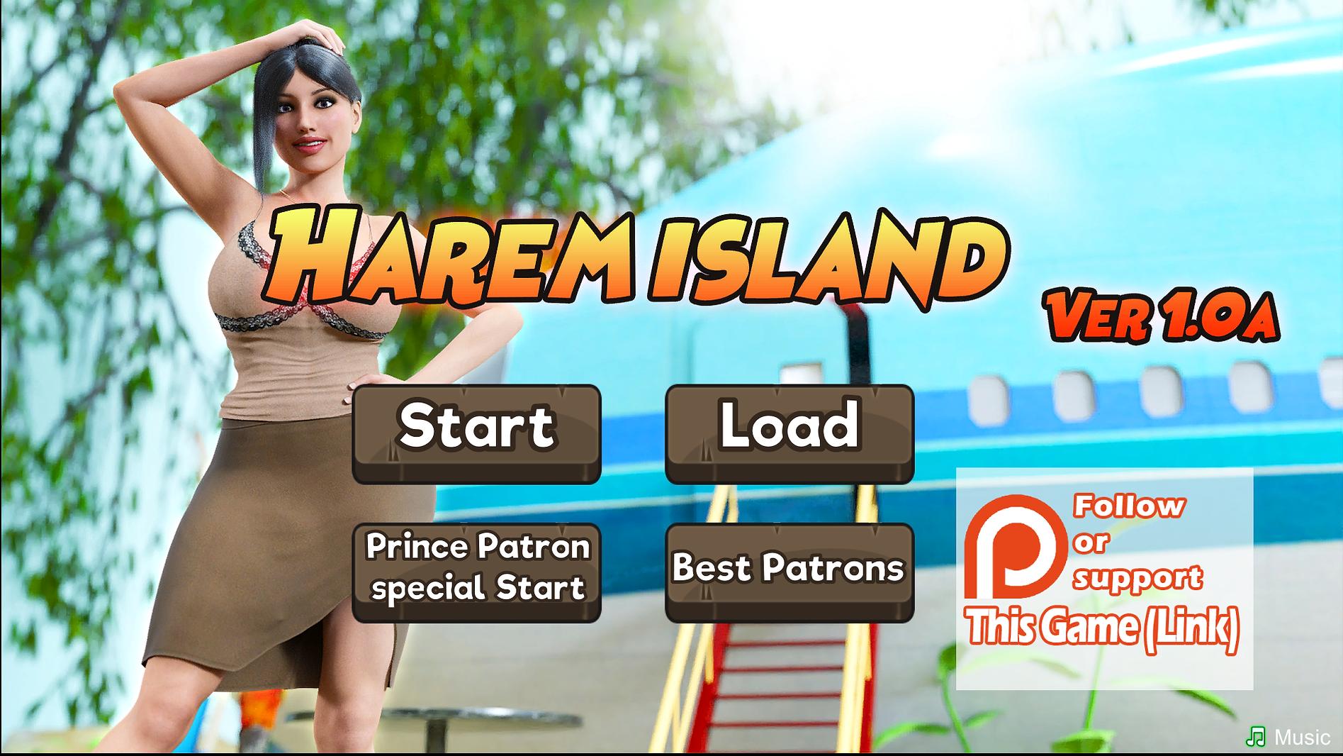 Harem Island Main - Haru's Harem.png