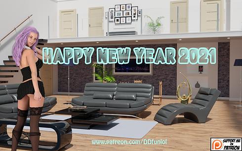 Happy New Year 2021 Main - Haru's Harem.