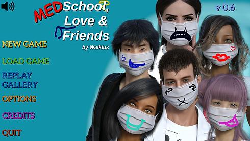 Medschool, Love and Friends Main - Haru'