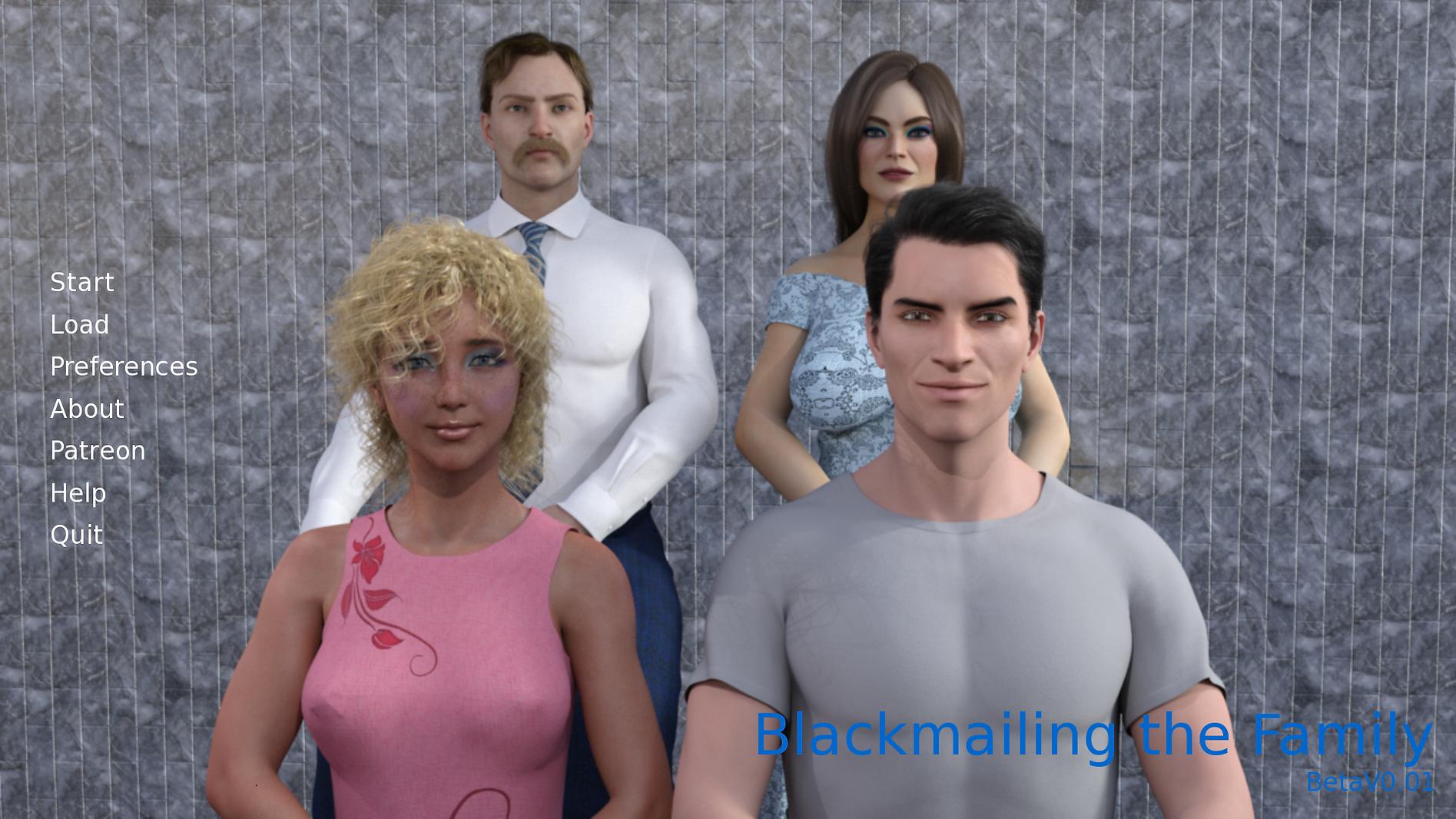 Blackmailing the Family Main - Haru's Ha