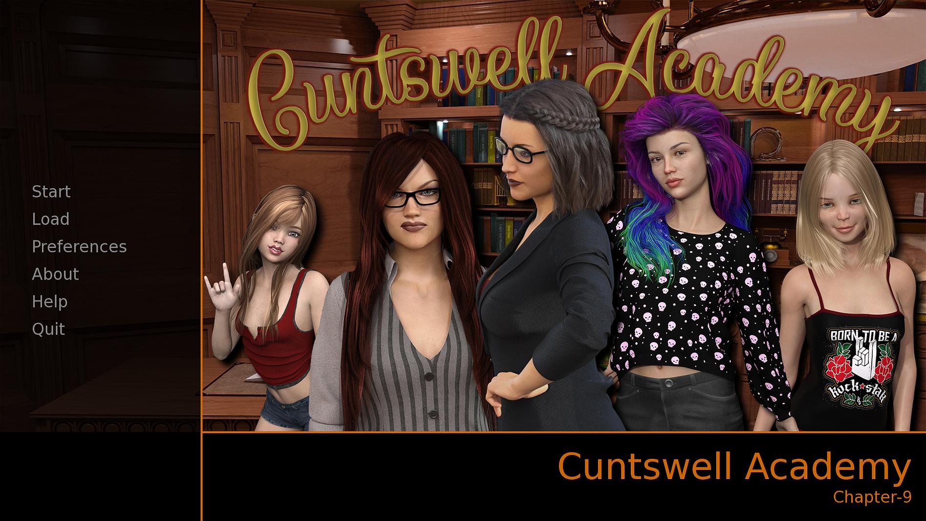 Cuntswell Academy Main - Haru's Harem.pn