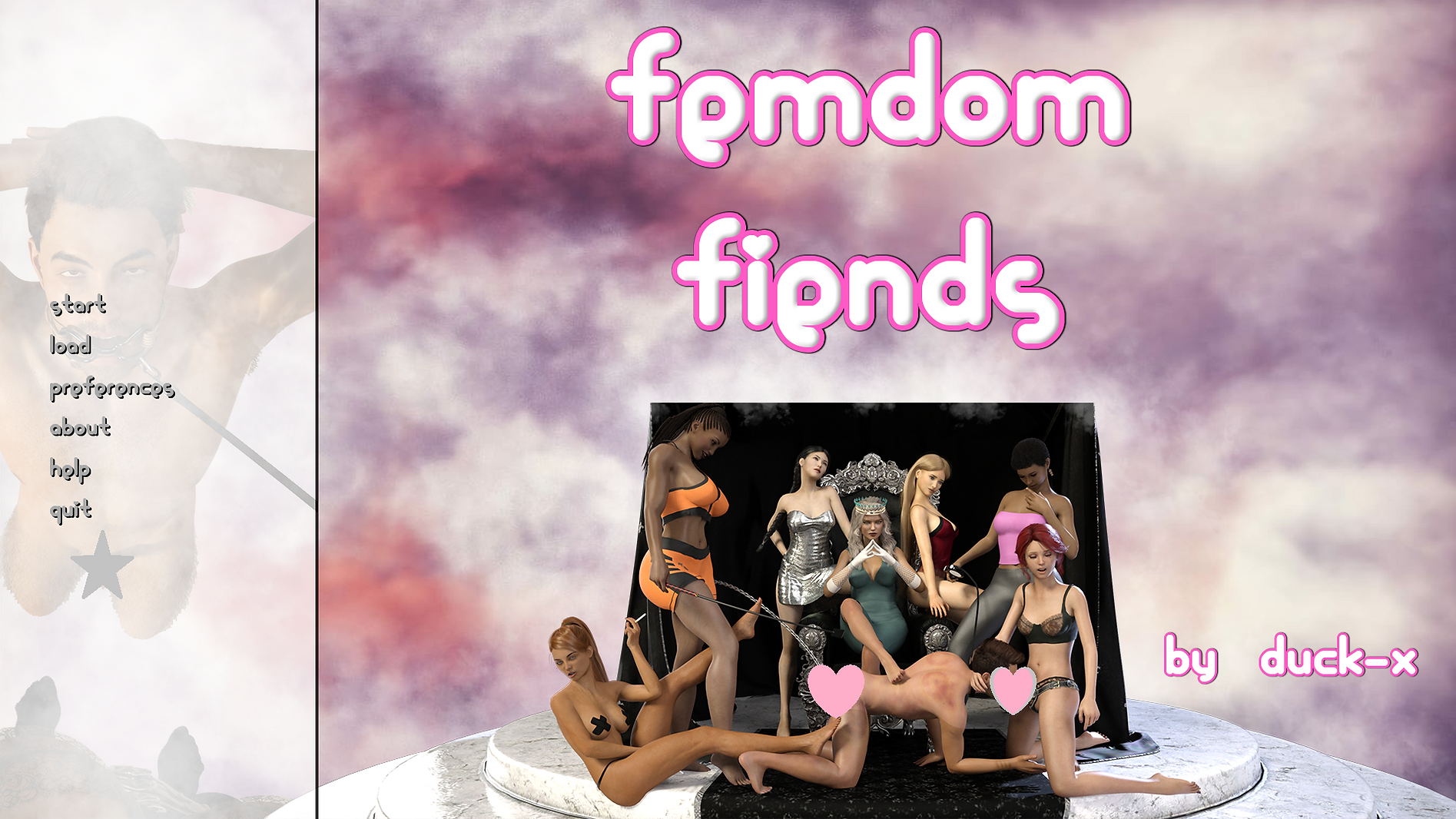 Femdom Fiends Main - Haru's Harem.png