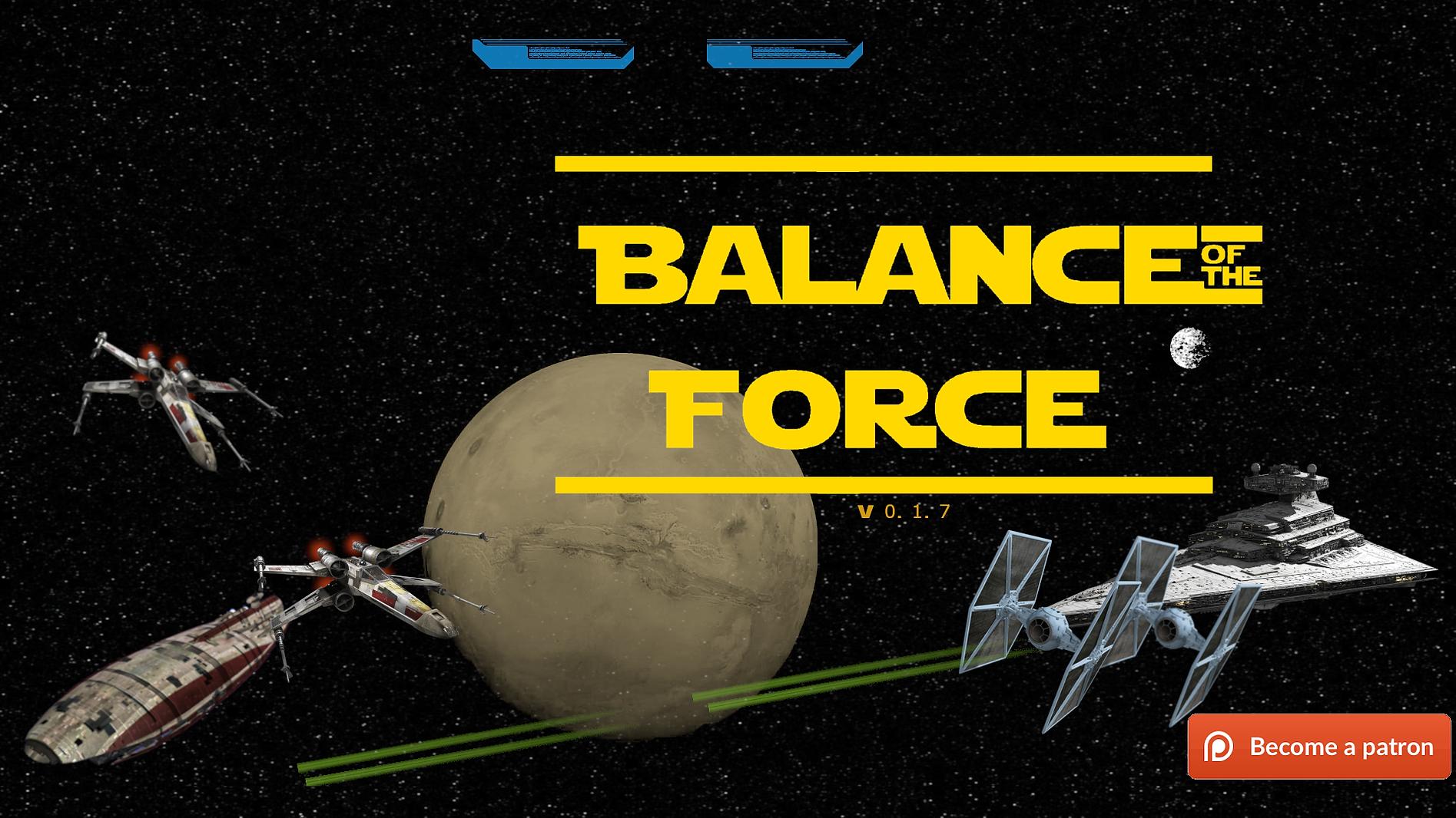 Balance of the Force Main - Haru's Harem