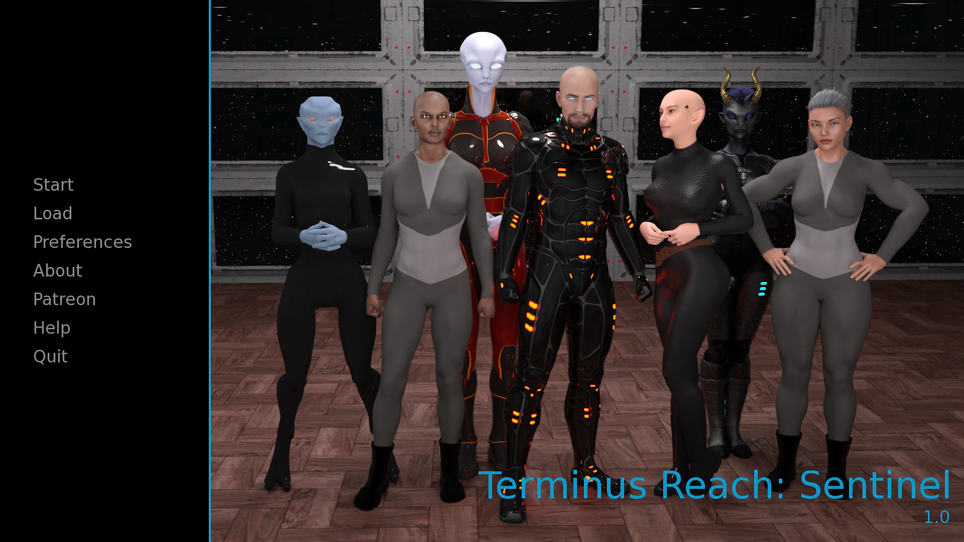 Terminus Reach Sentinel Main - Haru's Ha