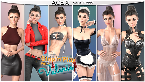 Strip n Play with Valerie Main - Haru's