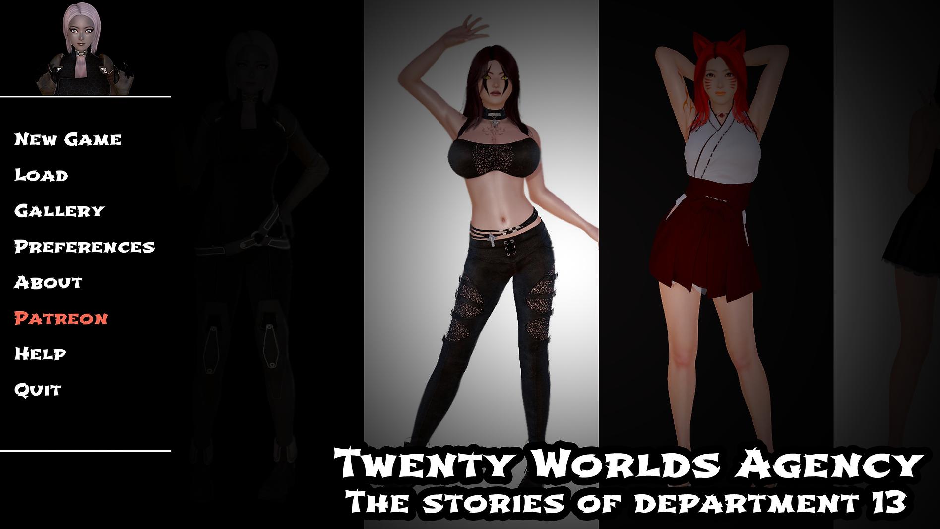 Twenty Worlds Agency Main - Haru's Harem