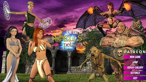Spells & Potions Main - Haru's Harem.png