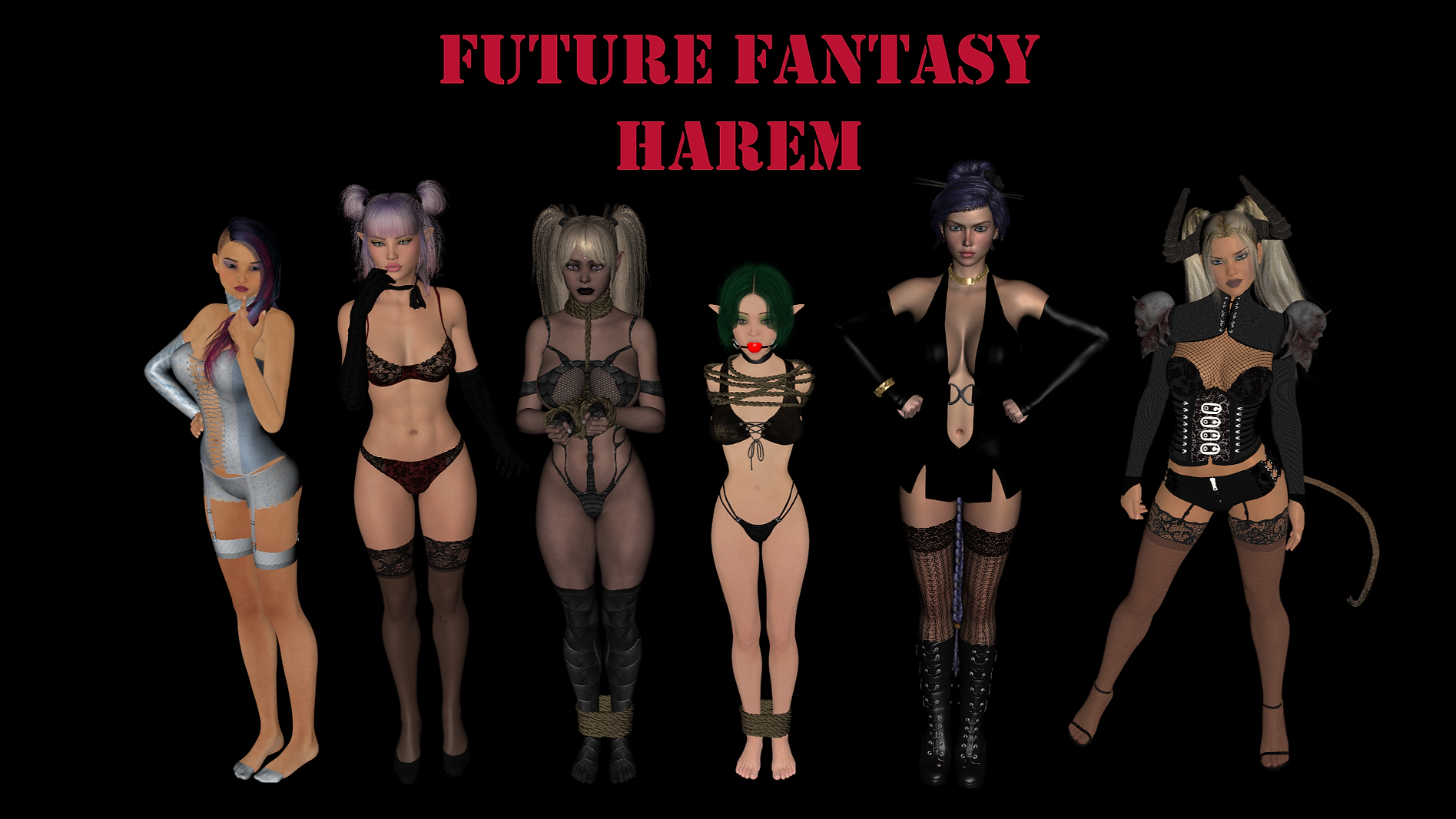 Future Fantasy Harem Main - Haru's Harem