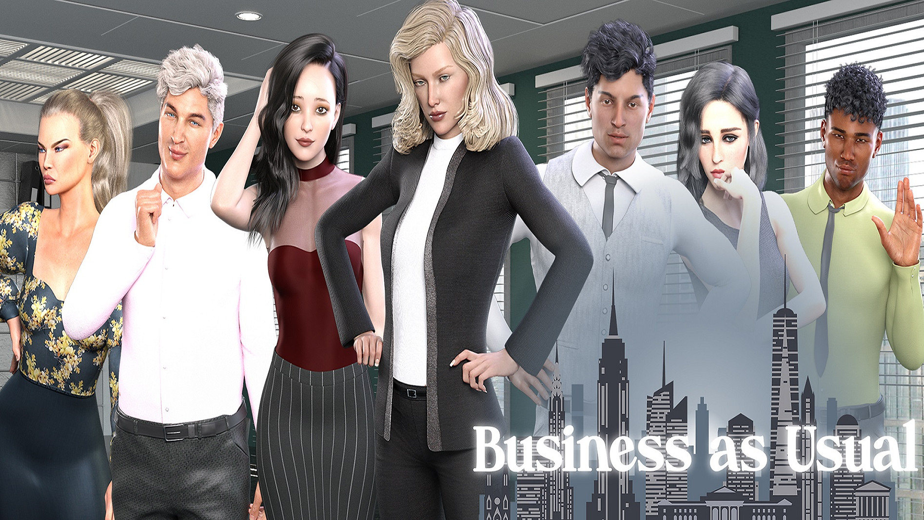 Business as Usual Main - Haru's Harem.jp