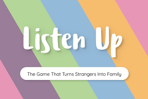 Listen Up™ LIMITED 1st Edition Game