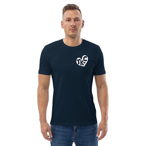 TKC Heart Unisex organic cotton t-shirt