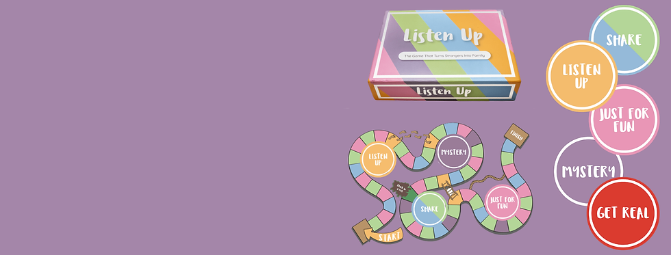 Listen Up Board Game for Connection and