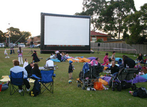 Giant Inflatable Movie Screen For Hire
