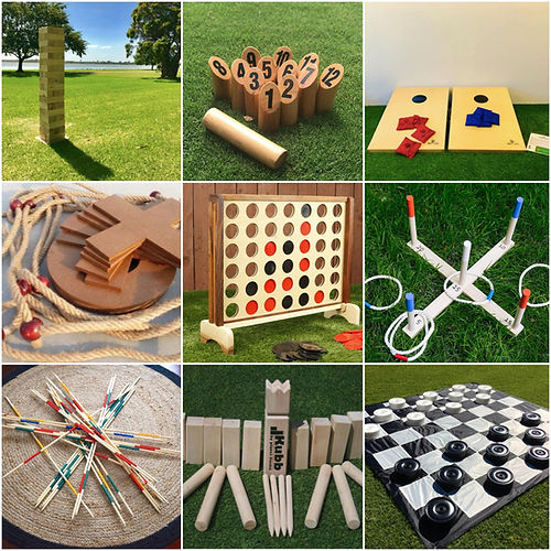 Giant Jenga Party Games Hire Sunshine Co