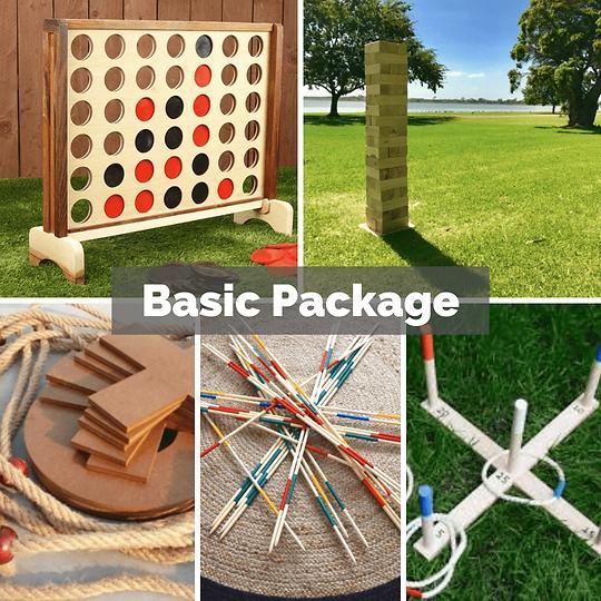 Basic Party Package Sunshine Coast Jenga