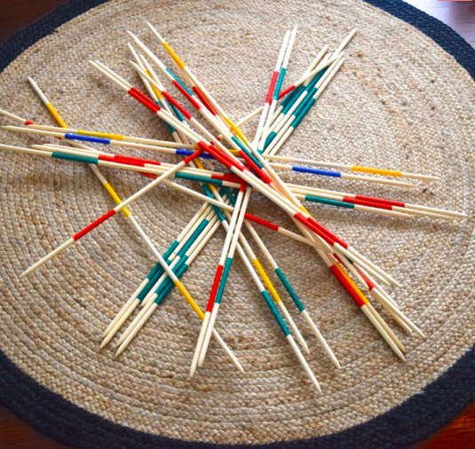 pick-up sticks Party Event Hire
