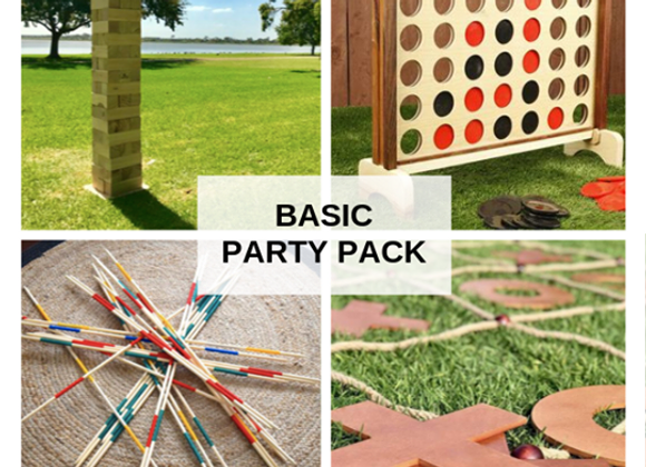 Basic Party Pack (3 Games)