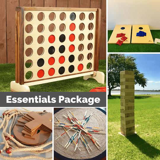 Essentials Package Hervey Bay Jenga Conn