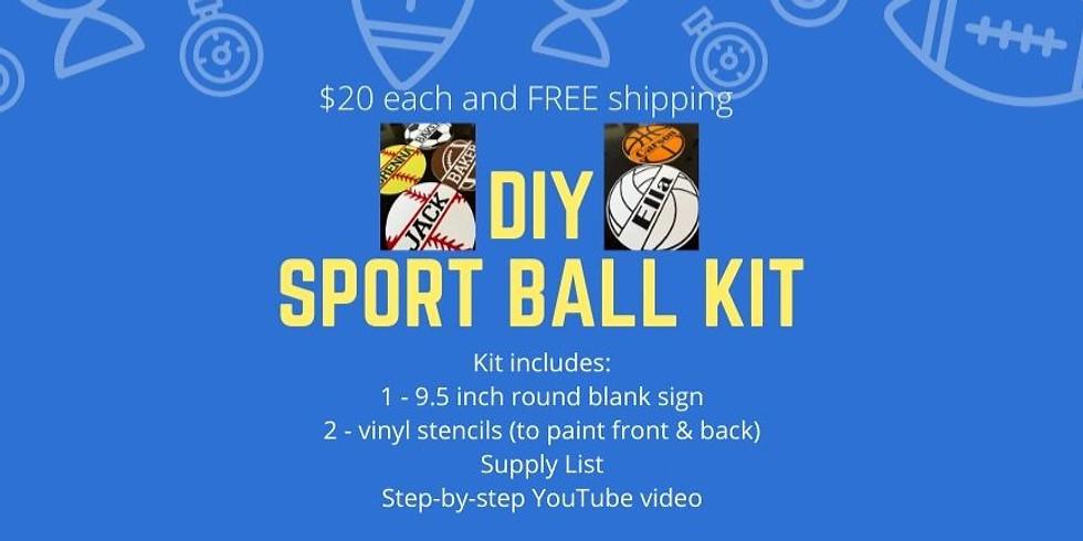 Sport Ball DIY kit