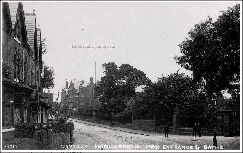 Grove Lane Entrance
