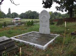 William McGregor's resting place