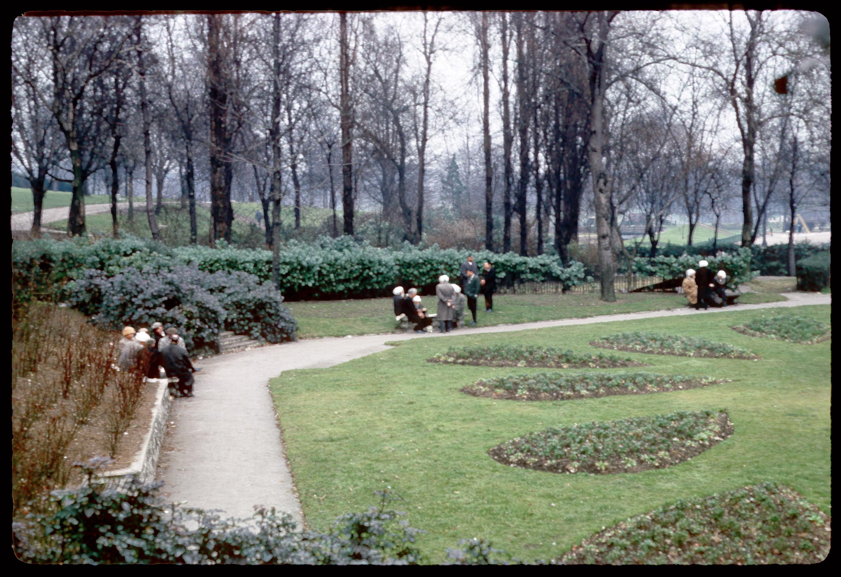 Corner of Sunken Garden