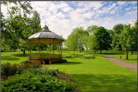 Redeveloped Bandstand